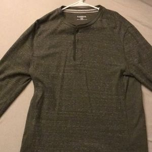 Express Heathered Green Thermal